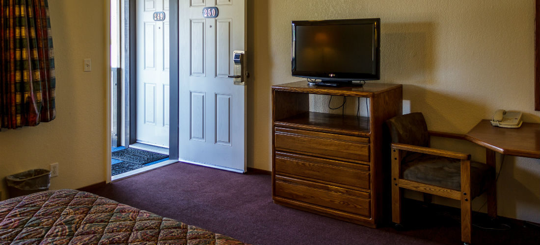 Premium Satellite Television in All Rooms!